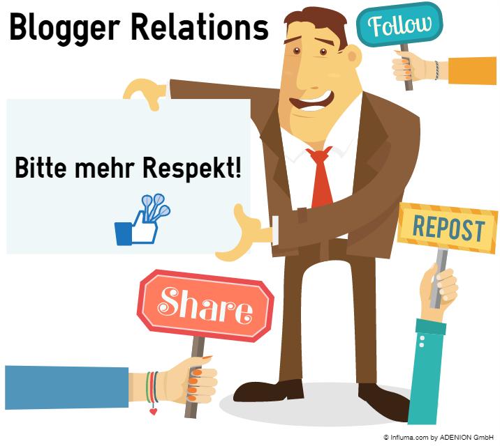 Mehr Respekt gegenüber Bloggern bei Blogger Relations