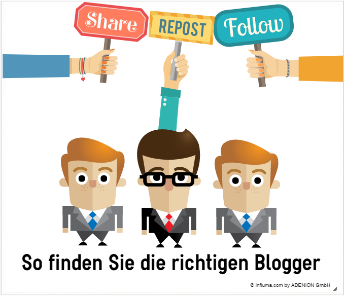 So finden Sie die richtigen Blogger