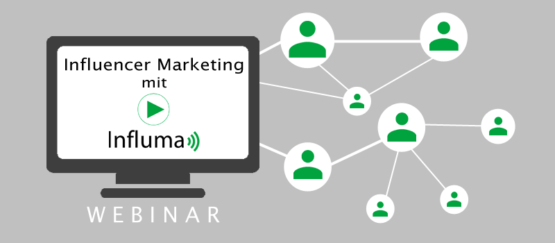 Influma live erleben. Content Marketing mit Blogger Relations: Influencer Marketing